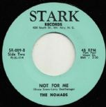 "45Re ✦ THE NOMADS ✦ "" Not For Me / How Many Times"" North Carolina Garage Gems ♫"